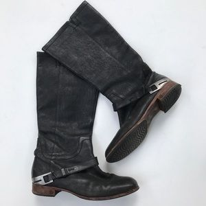 UGG Australia Channing Riding Boots Tall Buckle